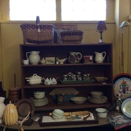 Baskets hand made and collectibles