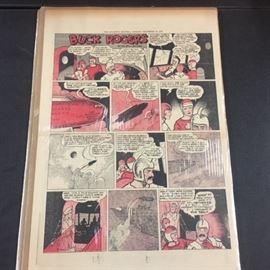 1930's Buck Rogers Comics