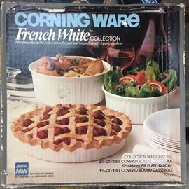 Corning Ware French White Set