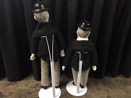 Laurel and Hardy Dolls