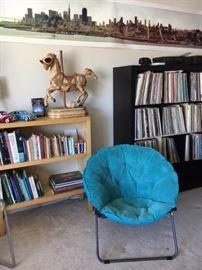 living room, Lp's