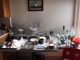 kitchen - lots of stuff!