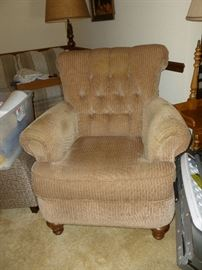 Flexsteel Corduroy Chair