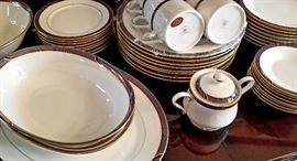 "Gorham ""Regata"" porcelain dinnerware"