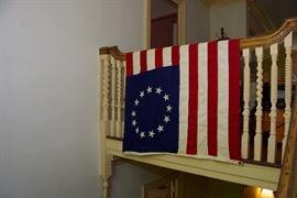 Vintage 13 colonies flag
