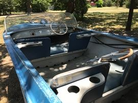 1961 Texas Maid 14', 40hp Wizard outboard