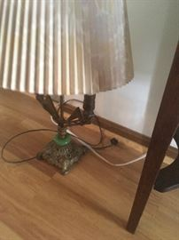 Nice antique lamp has been rewired