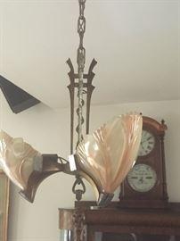 Beautiful Art Deco chandelier