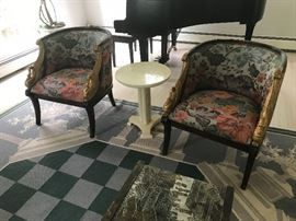 Pair of fabulous Baker Chairs