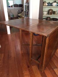 English oak drop leaf table - CC41 Furniture