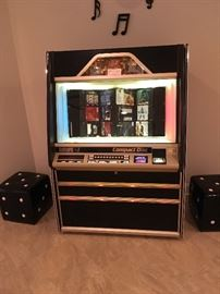 JUKEBOX - ROWE AMI COMMERCIAL COMPACT DISC PLAYER