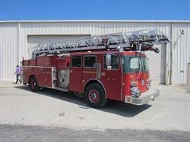 1988 LTI Simon Duplex Ladder Truck
