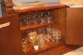 Period era glassware from 1920's