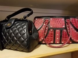 Large selection of beautiful handbags