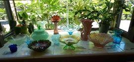 FABULOUS COLORED GLASSWARE!!!