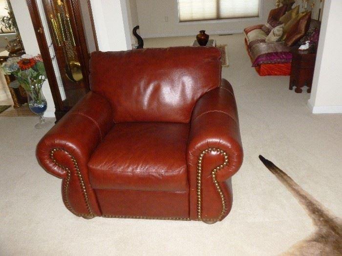 Matching  Oversize Chair