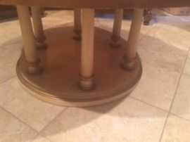 Base of Round coffee table