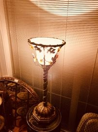 the house has over 25 lamps for sale in all shapes and sizes