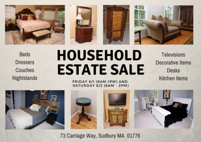 Incredible Entire Household Estate Sale In Sudbury Ma Starts On 6 1 2018 Alphanode Cool Chair Designs And Ideas Alphanodeonline
