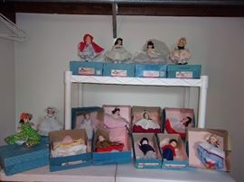 VINTAGE MADAM ALEXANDER DOLLS ALL WITH ORIGINAL BOXES