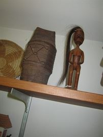 Collectible figures and pottery