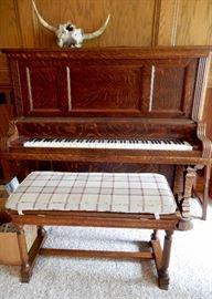 1870'S KIMBLE PIANO