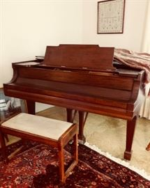A BEAUTIFUL STEINWAY PIANO