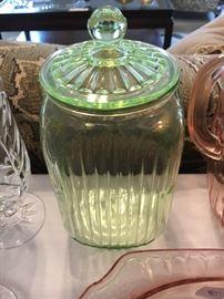 Vintage Hoosier Vaseline canister!