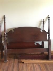 Antique full-sized 4-poster bed from the 1940's.  Only 1-owner. In fabulous condition!