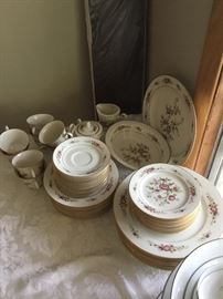 "53 piece Noritake Asian Song"" China in perfect condition."