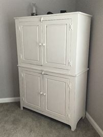 "Tall Americana cabinet (63"" high x 43.5"" wide x 18"" deep)"