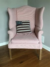 Seraph wing-back chair