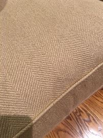 Close up of sofa fabric