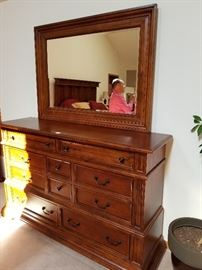 matching dresser and mirror