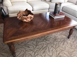 Coffee table with beautiful top