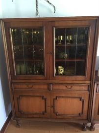 Vintage 60's China Cabinet from Germany, beautiful piece in excellent condition