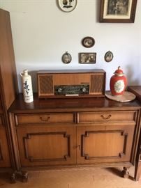 Vintage buffet server from Germany