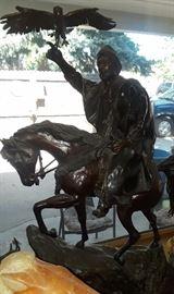 "Bronze Sculpture  ""Tradition"" Artist: H.A. Fadhli"