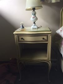 Retro nightstand french provincial