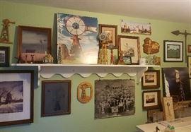 Windmill items in the BATAVIA ROOM
