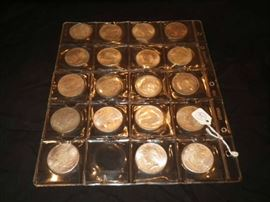 Peace silver dollars