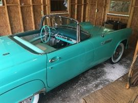 1955 Ford Thunderbird!  With hard and soft tops!    The pictures truly can't do it justice.