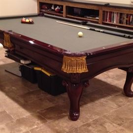 AMT Highland Series Limited Edition pool table. Available for pre-sale