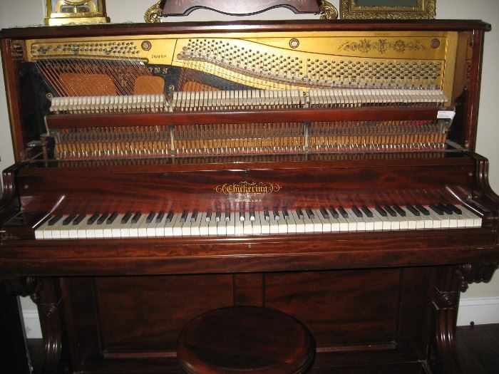 Chickering 1880's fully restored piano $22,000.00