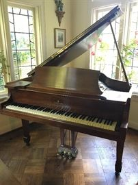 Steinway baby grand piano model S made in 1936
