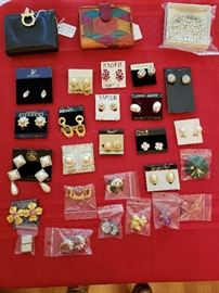 Variety of jewelry. Many are NEW. Givenchy, Monet, Swarovski, Trifari, Napier Anne Klein and many more.