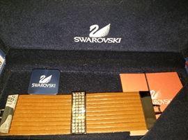 NEW in box Swarovski bracelet  with certificate