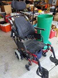 Power wheel chair, $25