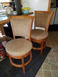 Nice swivel bar stools, $30 each