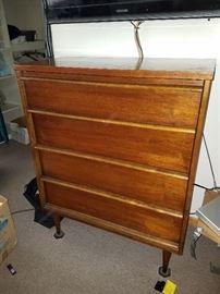 Mid Century 4 drawer dresser, $75